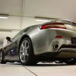 Aston Martin butt